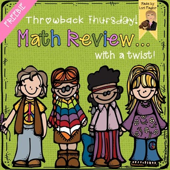 FREEBIE 2nd Grade Math Standards Review