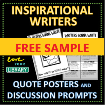 FREEBIE | 3 x Inspirational Writers Quote Posters