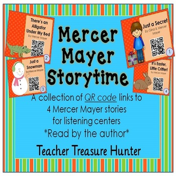 FREE 4 Mercer Mayer Storytime QR Code stories ~ Read by the author