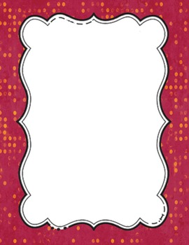FREEBIE: 4 Ready-Made Cover Pages: Use for your TpT Products - Delicious Dots