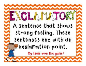 FREEBIE 4 Types of Sentence!