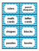 FREEBIE!  48 Classroom Environmental Print Labels