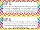 {FREEBIE} 6th Grade Math Common Core *Standards Posters* Rainbow Chevron