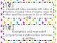 {FREEBIE} 7th Grade Math Common Core *Standards Posters* Neon Stars