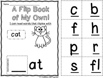 FREEBIE: A Flip Book of My Own for __at family