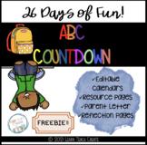 FREEBIE: ABC Countdown Calendar & Mini-Reflection Book