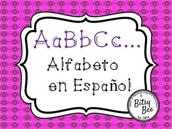 FREEBIE Alfabeto en Español.