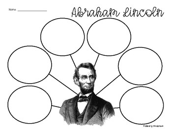 FREEBIE: Abraham Lincoln Graphic Organizer
