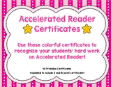 Accelerated Reader Certificates