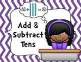 FREEBIE Add and Subtract Tens Practice Pages