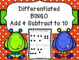 FREEBIE!  Addition & Subtraction BINGO 1-10