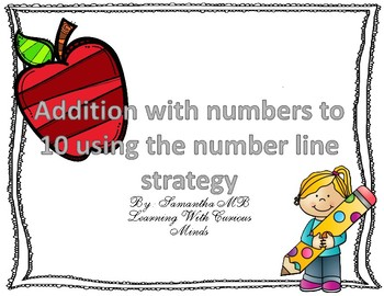 FREEBIE Addition Using A number Line