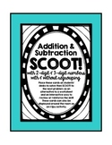 3.NBT.A.2 - Addition and Subtraction SCOOT! FREEBIE!