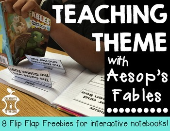 FREEBIE - Aesop's Fables Flip Flaps for Interactive Notebooks