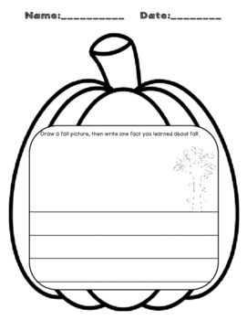 FREEBIE: All About Fall Informational Text with 4 Comprehension Activities
