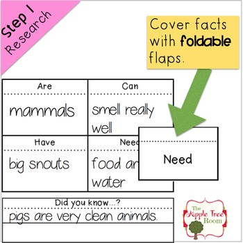 FREEBIE All About Pigs {K-3 CCSS Research and Writing Mini-Unit}