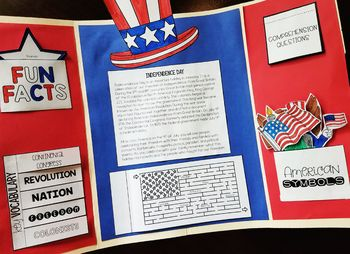 FREEBIE: All About the 4th of July Lapbook