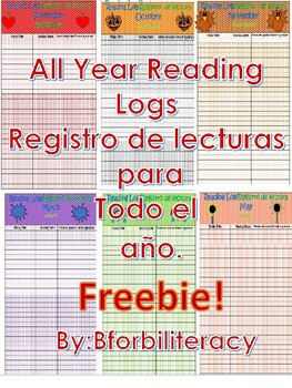 FREEBIE! All Year Reading Log-NOVEMBER
