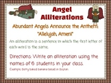 FREEBIE Alliteration and Limerick Christmas Centers