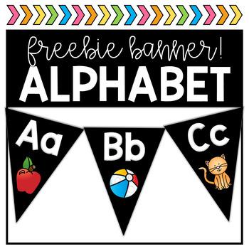 FREEBIE Alphabet Banner