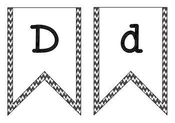 FREEBIE - Alphabet Bunting