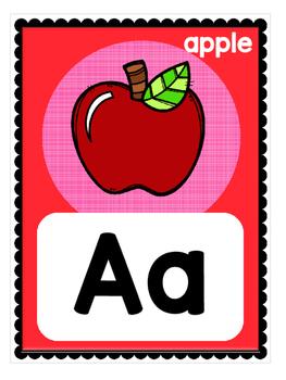 FREEBIE! Alphabet Letter Wall