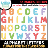 FREEBIE - Alphabet Letters (Uppercase) Clipart (Lime and K