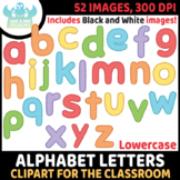 FREEBIE - Alphabet Letters (Lowercase) Clipart (Lime and K