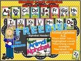 FREEBIE-- Animal Alphabet Set