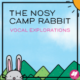 FREE - Animated Vocal Exploration - The Nosy Camp Rabbit - Distance Learning