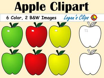 FREEBIE  Apple Clipart