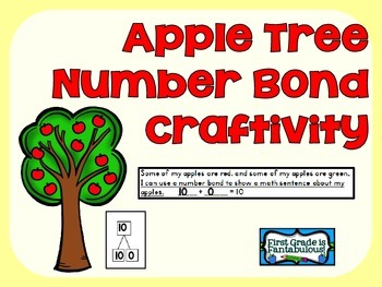 {FREEBIE} Apple Tree Number Bonds