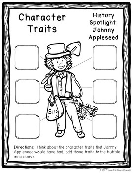 FREEBIE - Apples and Johnny Appleseed Unit Study Resources and Notebook Pages
