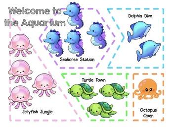 FREEBIE Aquarium Animal Bar Graph Math Mini Lesson