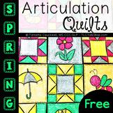 FREEBIE:  Articulation Spring Quilt