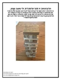 FREEBIE! Articulation in Conversation Jenga Game!