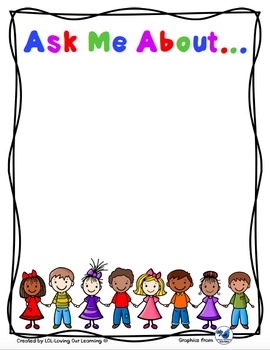 FREEBIE:  Ask Me About...
