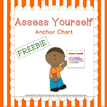 FREEBIE:  Assess Yourself Anchor Chart