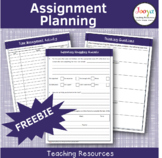 Assignment Planning for Students