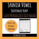 FREEBIE: At-Home Spanish Vowel Scavenger Hunt