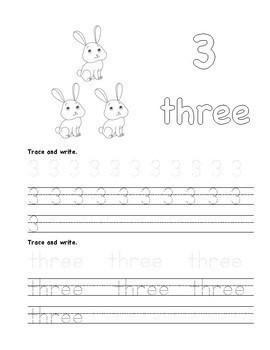 FREEBIE Numbers 0-5