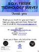 FREEBIE - B.O.Y. Technology Survey