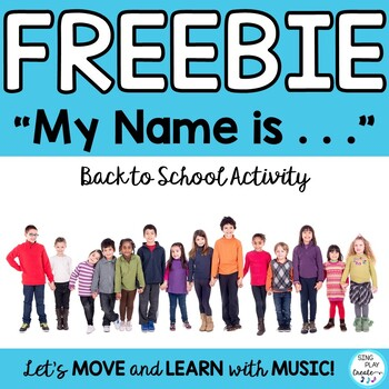 FREEBIE: Name Game, Ice Breaker, First Day Activity