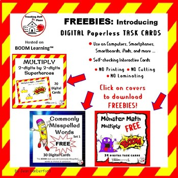 ABOUT ME ... BOOKLET FREE ... Plus Digital Decks