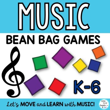 Music Class Bean Bag Games-Assessment, Review and End of Y