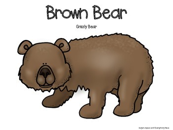 BROWN BEAR Research and Information Project Aligned with Common Core