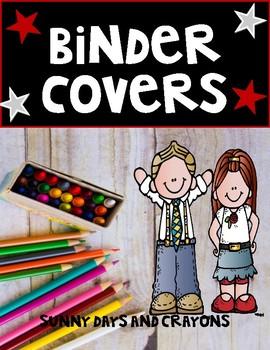 BINDER COVERS  FREE GROWING BUNDLE!