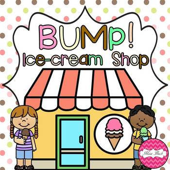 freebie bump ice cream shop themed game board by miss beck tpt