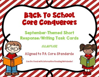 FREEBIE - Back To School ELA Upper Elem/Middle School Task