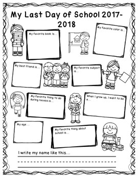 FREEBIE Back-To-School | First and Last Day of School Poster Set